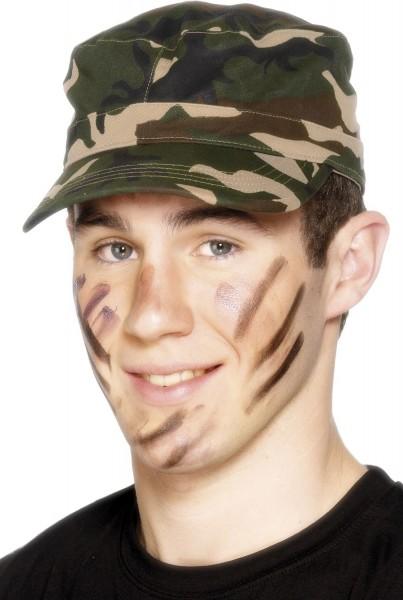 Militär Tarn Basecap