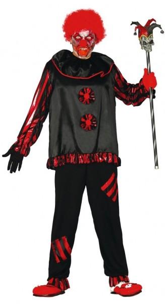 Horrorclown Hofnarr Justus Kostüm