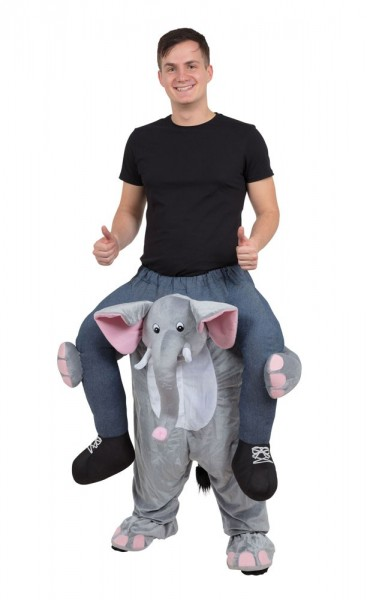 Elephant Elli piggyback costume
