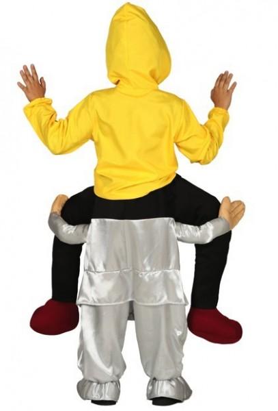 Killer clown piggyback kinderkostuum