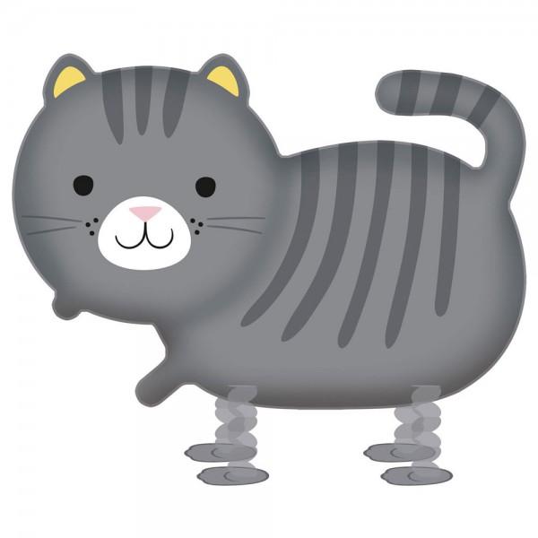 Ballon aluminium pour chat marchant 75cm x 52cm