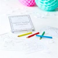 Kinder Aktivitätenset für Hochzeiten
