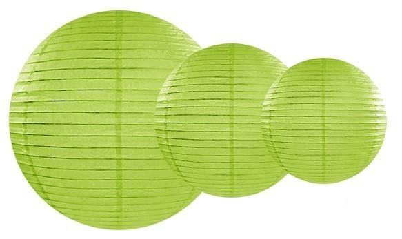 Linterna Lilly verde claro 35cm