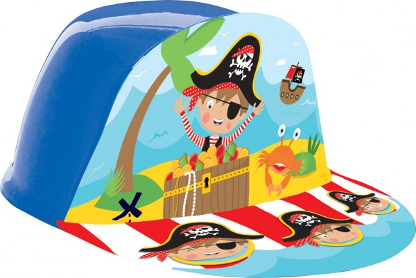 Casquette d'anniversaire Little Pirate Tommy 16x18.5cm