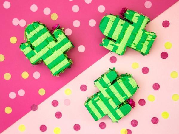 Mini Kaktus Pinata 9,5 x 11,5 x 3,5cm