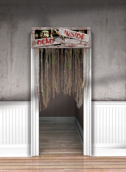Zombie Town Türvorhang 96,5cm x 1,37m
