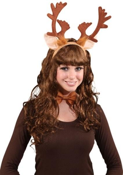 Conjunto de reno marrón para mujer