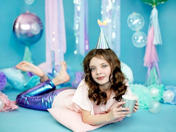 6 Mermaid Princess Pappbecher 220ml 6