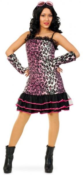 Leoparden Diva Kleid Lilian