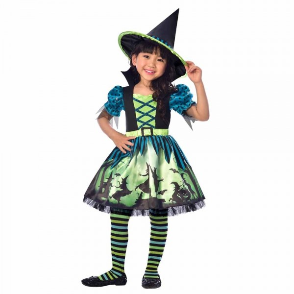 Hexe Lulu Kinder Kostüm