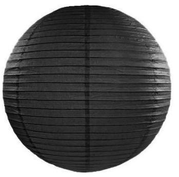 Lampion Lilly schwarz 25cm