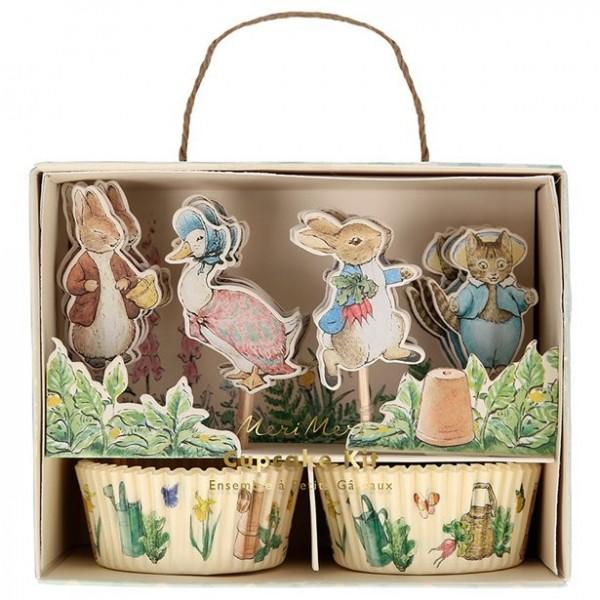 Ensemble de cupcakes Peter Bunny 24 pièces