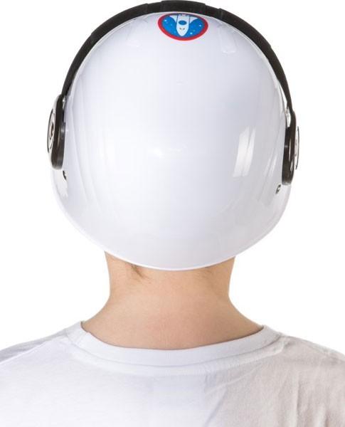 Weißer Astronautenhelm für Kinder