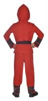 Déguisement ninja rouge pour enfants