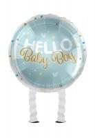 Baby Boy Bär Airwalker Folienbllon 43cm