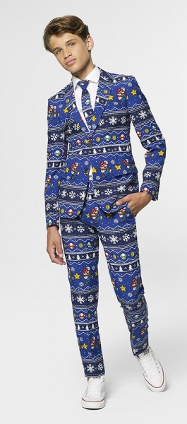 Opposuits Teen Boy Merry Mario Suit