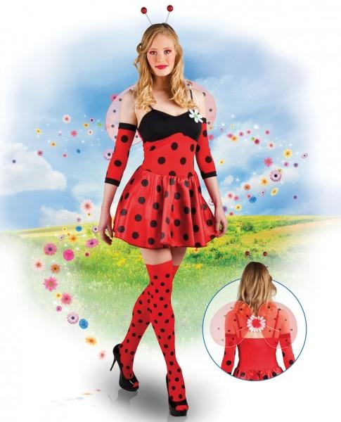 Sexy lieveheersbeestje Melina dames kostuum