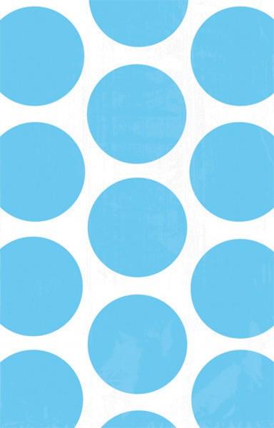 10 sachets cadeaux buffet de bonbons bleu azur