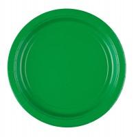 20 Pappteller grün 22cm