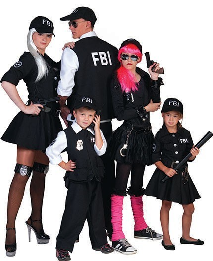 FBI Junior Agentin Kinderkostüm