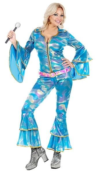 70er Jahre Disco Kostüm für Damen