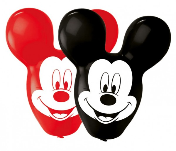 4 Mickey Mouse Riesenohren Ballons