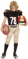American Football Spieler Kinderkostüm
