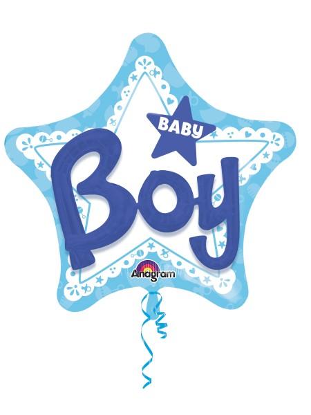 Ballon étoile Baby Boy 3D