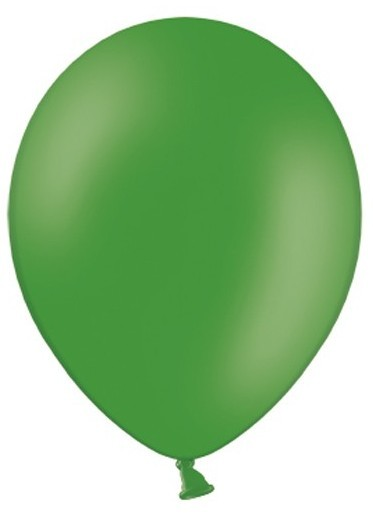 50 party star balloons fir green 30cm