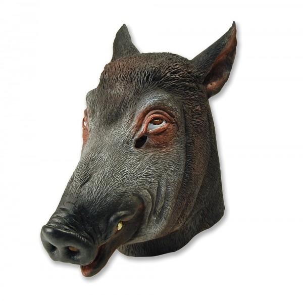 Masque de sanglier noir