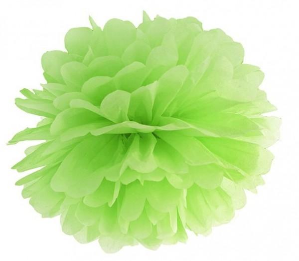 Pompon Romy apple green 35cm