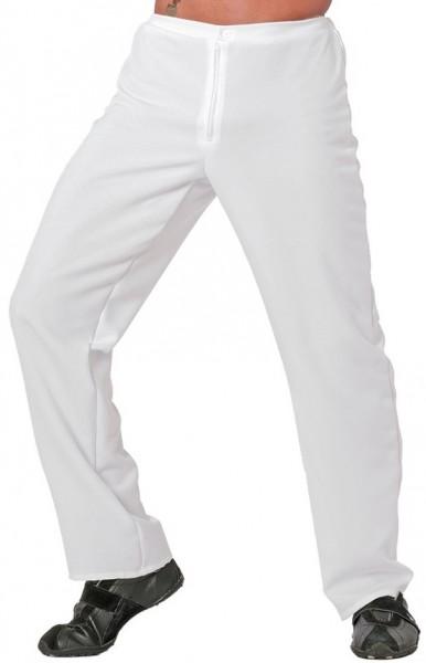 Klassische Herrenhose In Weiß
