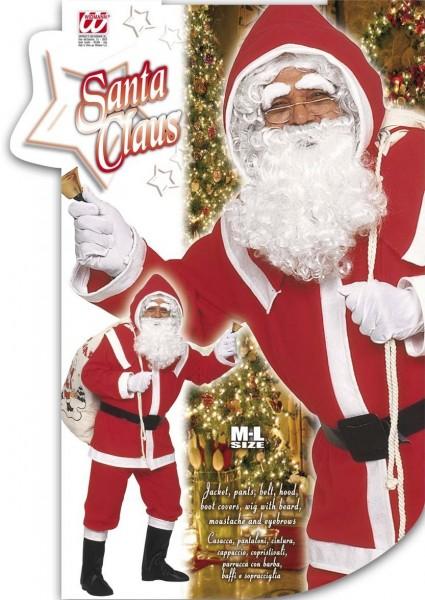 Flanell Weihnachtsmann Kostüm