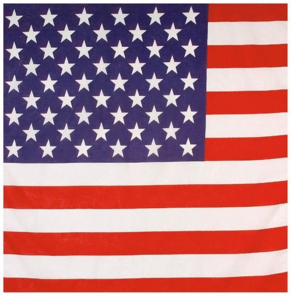 US Flaggen Bandana 55x55cm