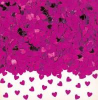 Liebesglück Herz Streudeko Pink Metallic 14g