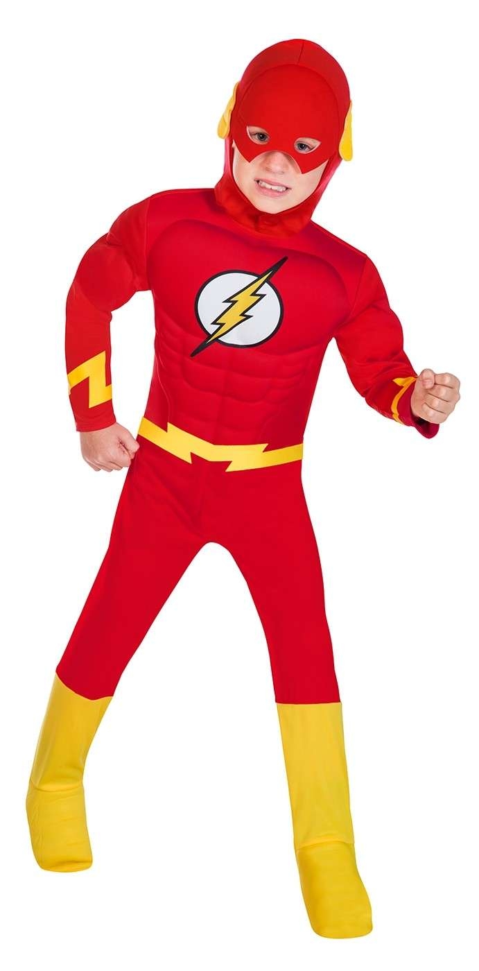 Offiziell Lizenziert The Flash Emblem Unisex Kinder Alter 3-12 Jahre