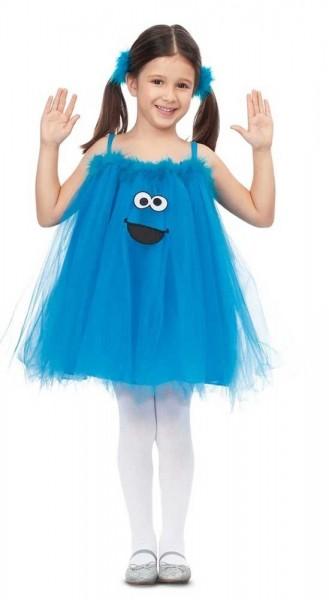 Krümelmonster Tüllkleid für Kinder