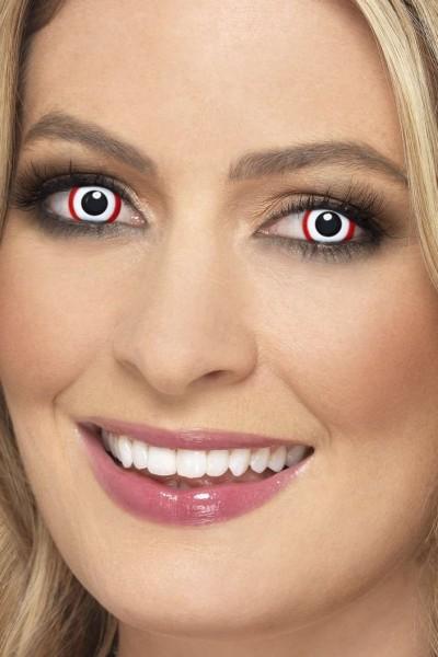 Kontaktlinsen Red Circle
