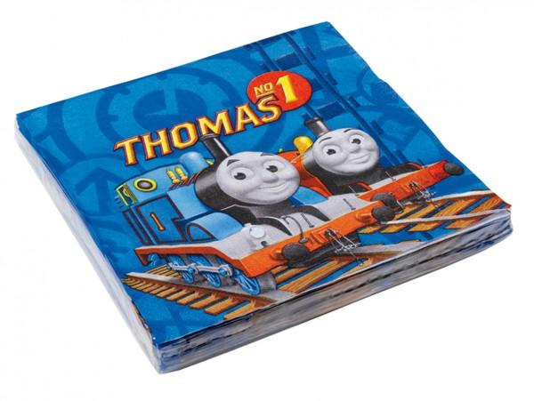 20 Thomas die kleine Lokomotive Serviette