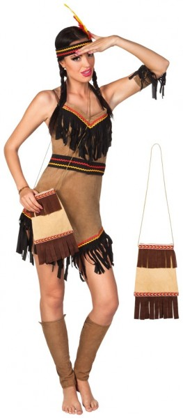 Indianer Handtasche Braun