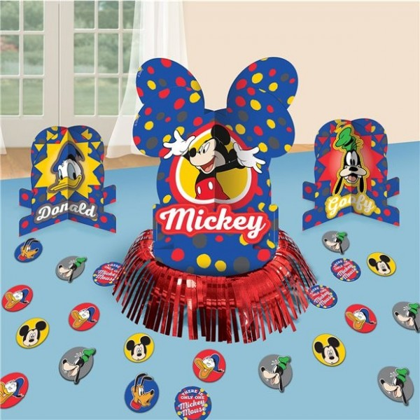 Juego de decoración de mesa de fiesta de cumpleaños de Mickeys