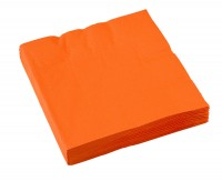 20 Party-Servietten 33cm orange