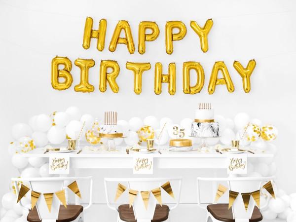 20 Happy Birthday Servietten 33cm 3