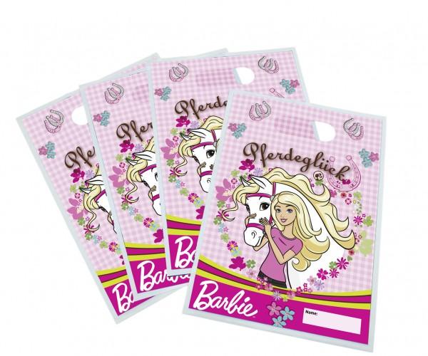 Zestaw 6 torebek prezentowych Barbie na urodziny dla dzieci