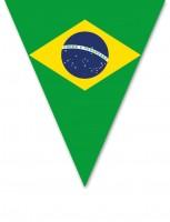 Brasilien Wimpelkette 5m