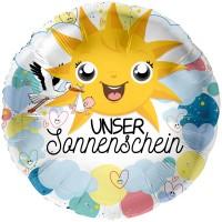 Folienballon unser Sonnenschein 45cm