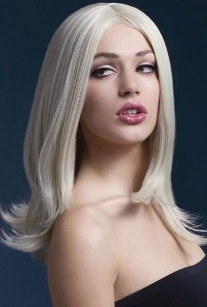 Blonde Langhaarperücke Miss Gaga