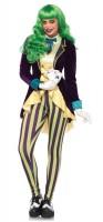 Misses Joker Buntes Damenkostüm