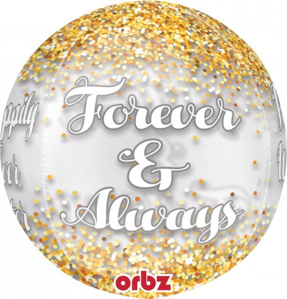Ballon en aluminium Forever & Always