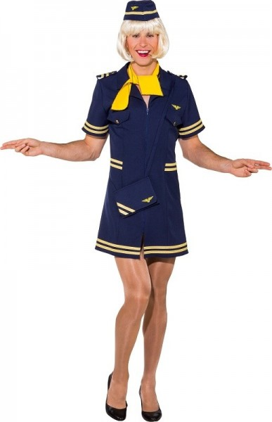 Stewardess Loreley Herrenkostüm